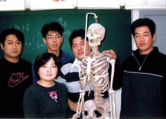 関整体術院の上海留学写真